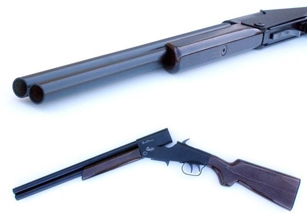 Globserver G-Shoot 17 mm-es gumis muzeális puska
