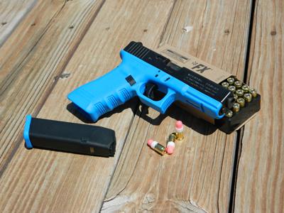 Simunition-gun