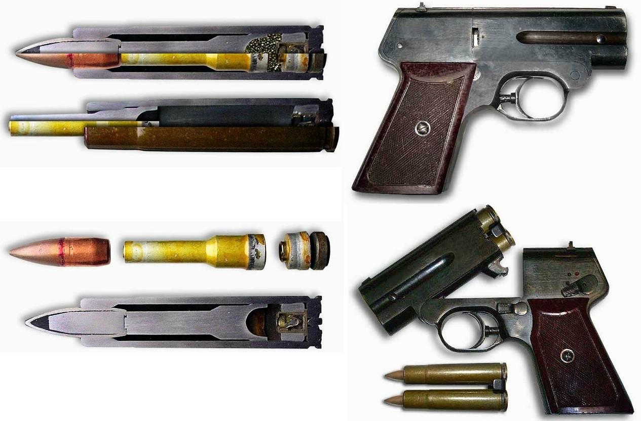 7,62x63mm PZAM hangtalan lőszer és az S4M pisztoly