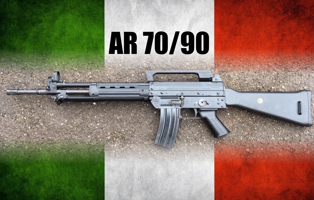 Beretta AR70/90 félauto konverzió polgári piacra