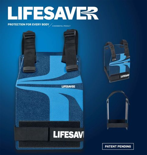 """Lifesaver: a Rheinmetall """"Kalasnyikov-álló"""" olcsó védőmellénye"""