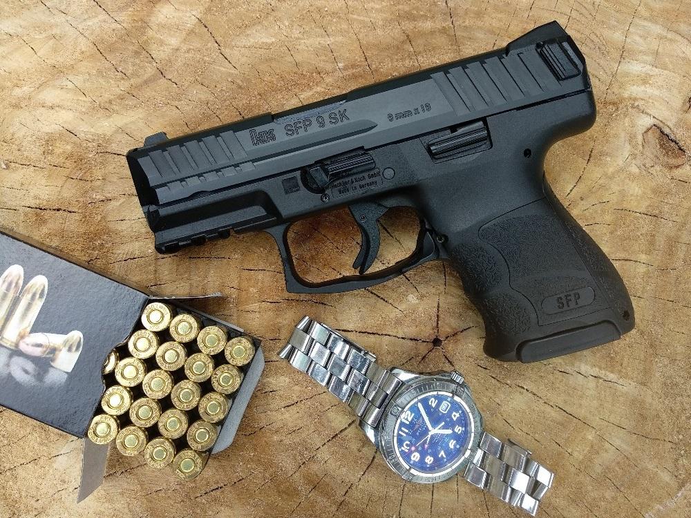 HK SFP9SK – zseniális germán pisztoly, szuperidióta névvel
