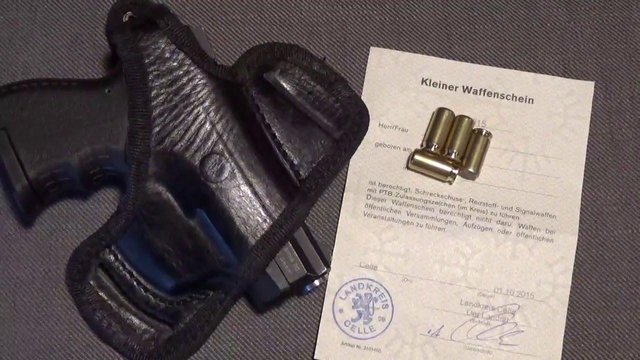 Németország: megduplázódott a gázfegyver-viselésik száma