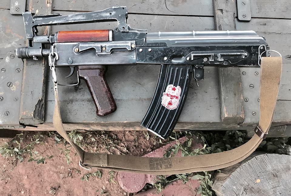 Bad Element AK bullpup pistol proto – nincs válltámasza, tehát pisztoly:-)