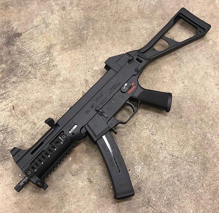 HK UMP-9 géppisztoly a francia rendvédelemnek