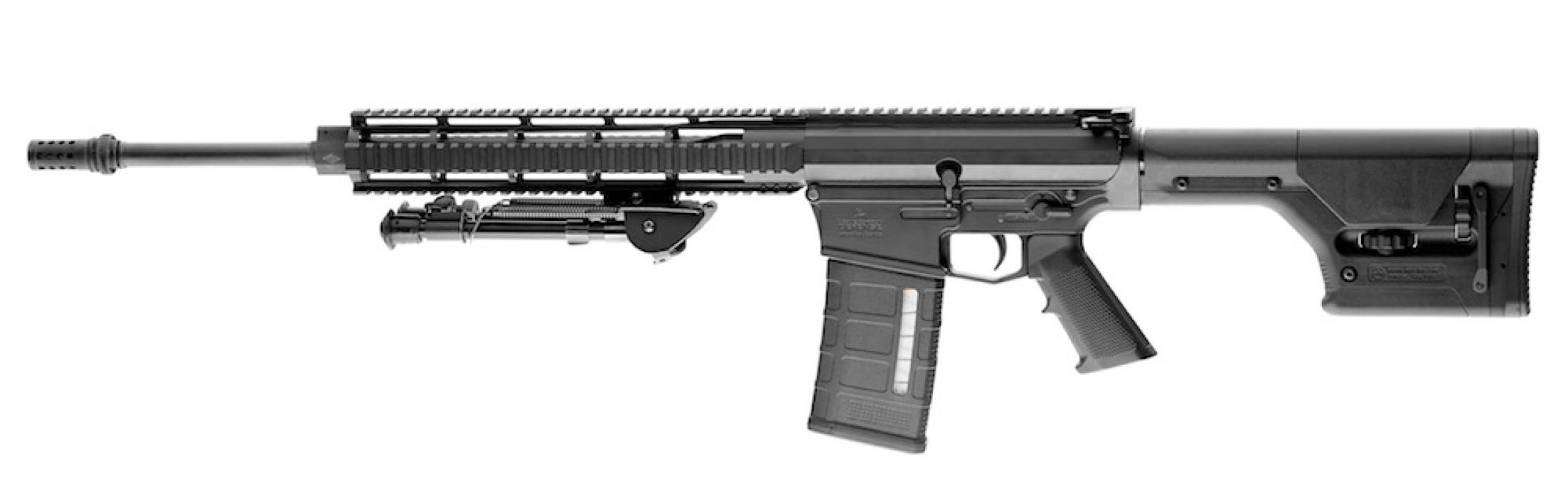 Új francia 7,62×51 mm-es öntöltő DMR-puska