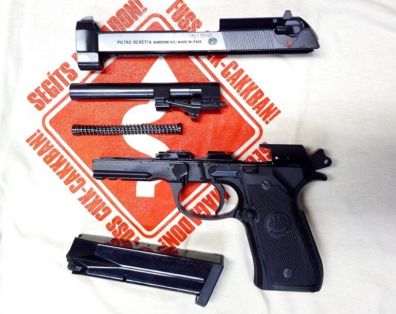 Beretta M92A1 9 mm Luger pisztoly 2. rész