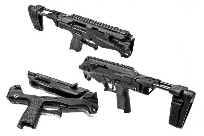 X01: PDW-átalakító szett SIG P320 pisztolyhoz