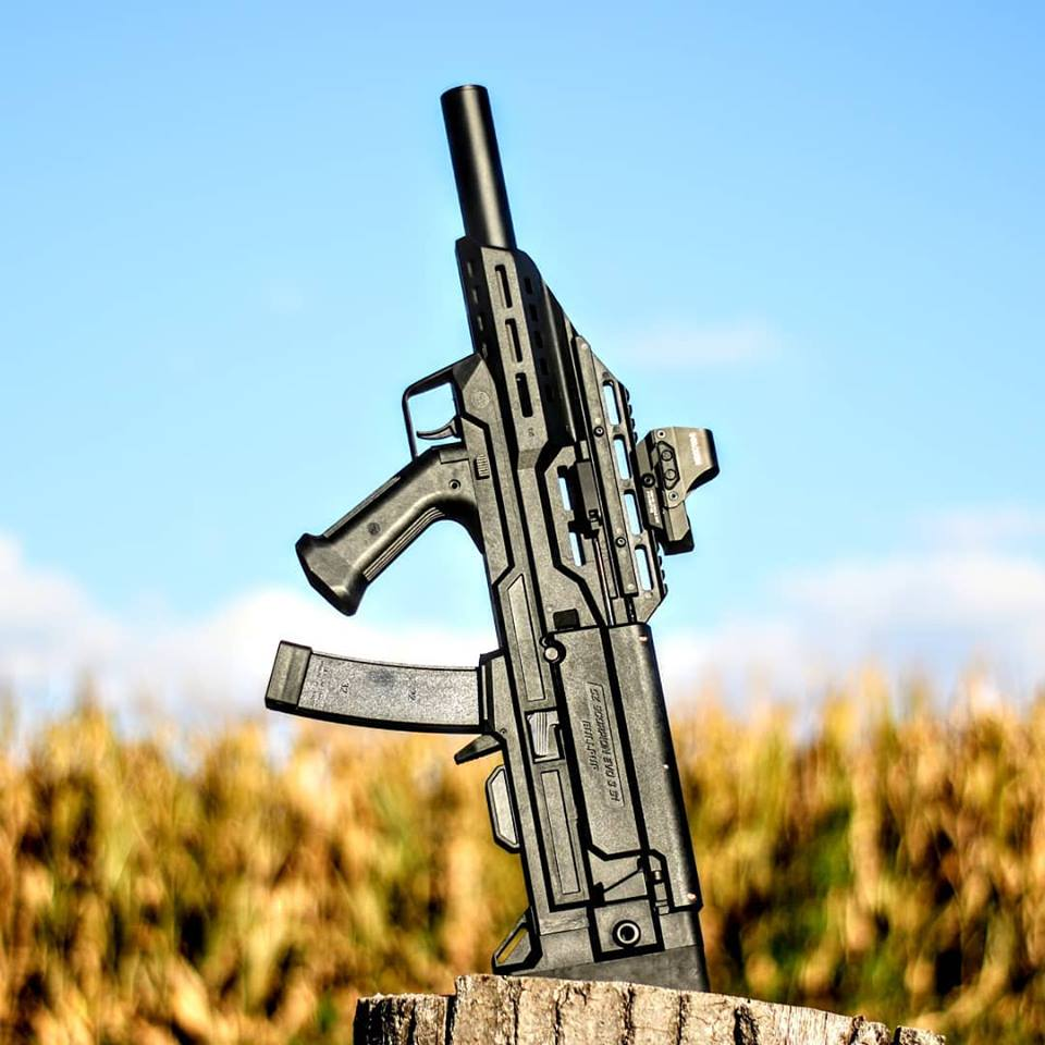 Manticore Arms CZ Scorpion Evo3 S1 bullpup konverzió