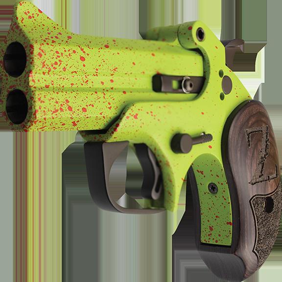Azt hittem ezek divatja már elmúlt – Zombivadász derringer 2018 (.410/.45 Colt Bond Arms Z-Slayer)