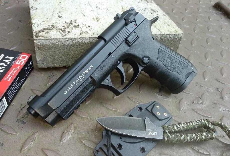 Ekol Firat P92 Magnum 9 mm PAK (16+1) gázpisztoly