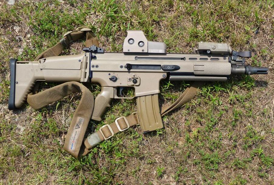 FN SCAR-L a bajor állami rendőrségnek