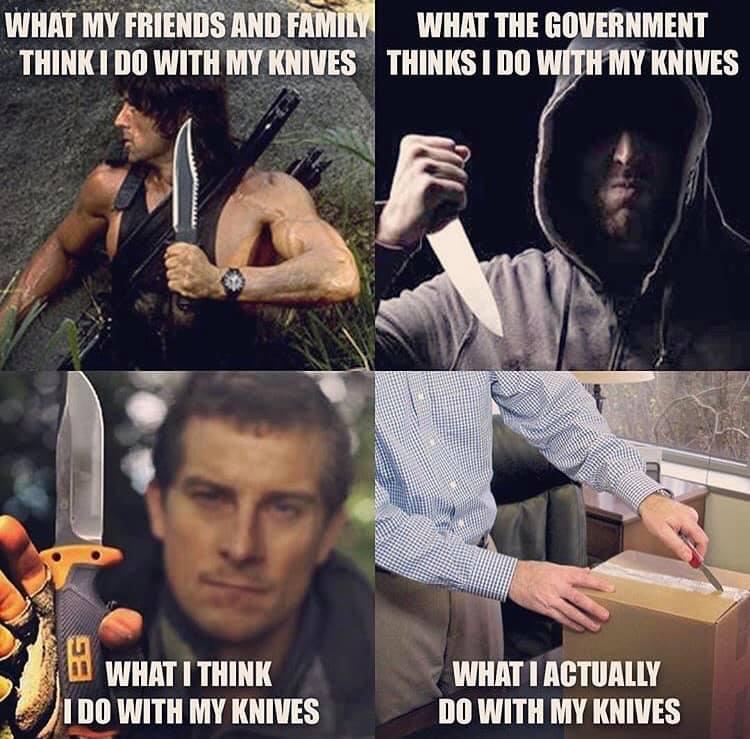 Ki mit gondol rólam és a késeimről?:-)