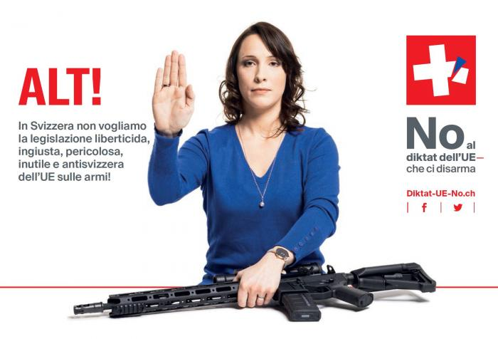 Népszavazást kezdeményeztek Svájcban az EU-fegyverdirektíva ellen
