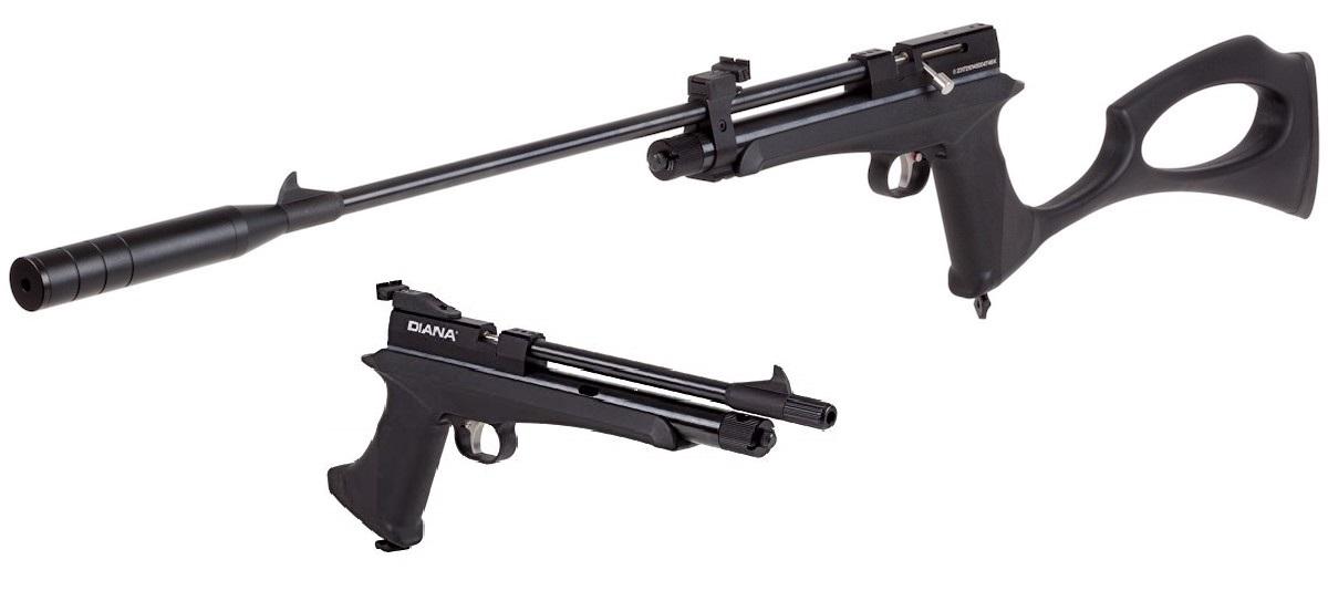 Diana Chaser légpuska/pisztoly szett