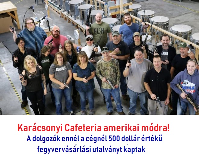 Make America Great Again – Cafeteriával is:-)