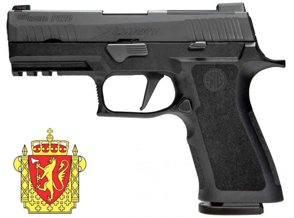 A norvég rendőrség új pisztolya