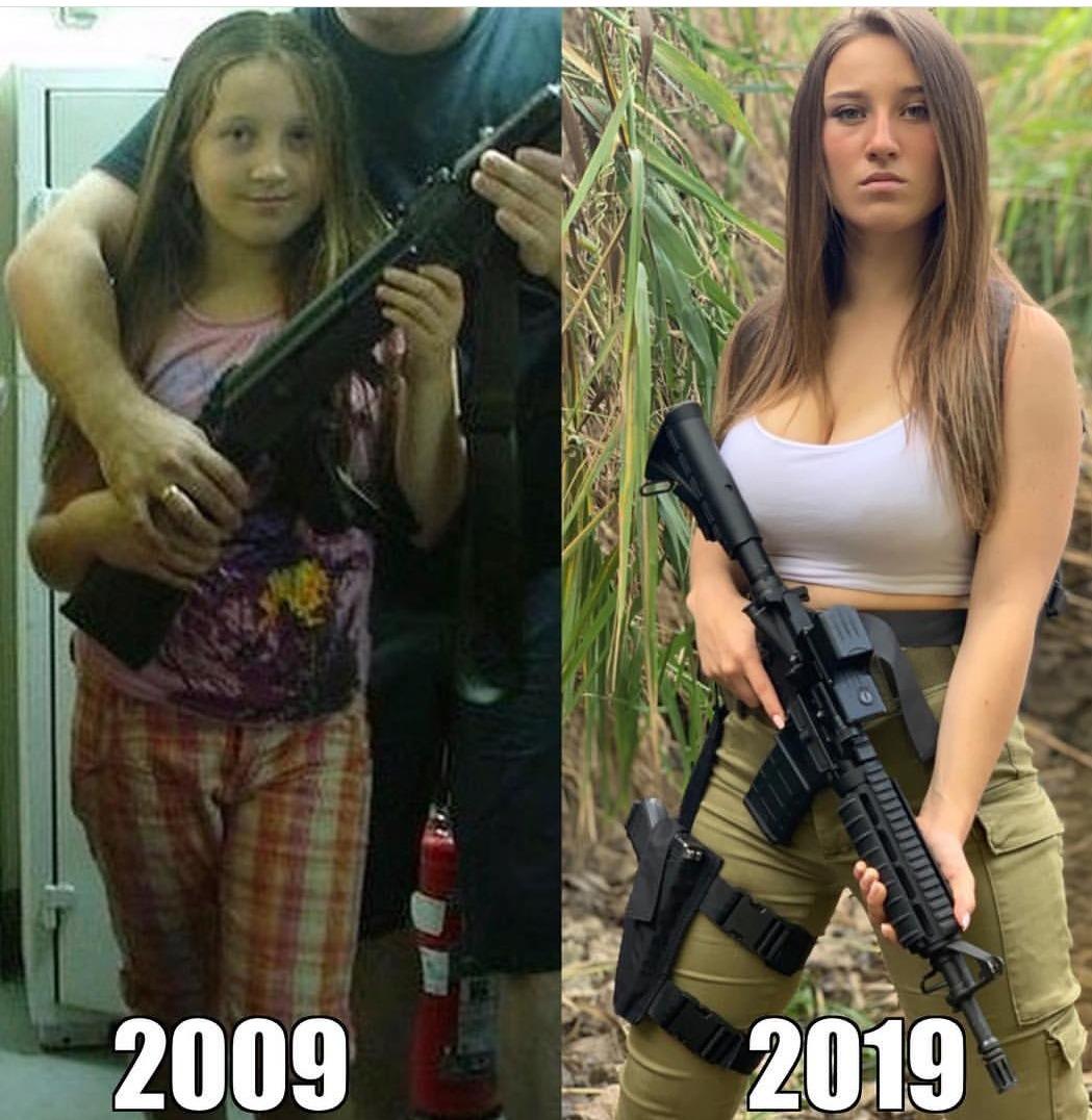 10 Year Challenge:-)))