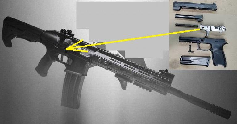 SIG P320-ból AR-15