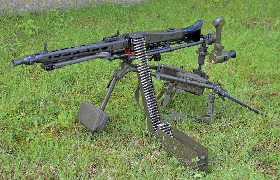 Villámgéppuska civilben: Hessen Arms M3