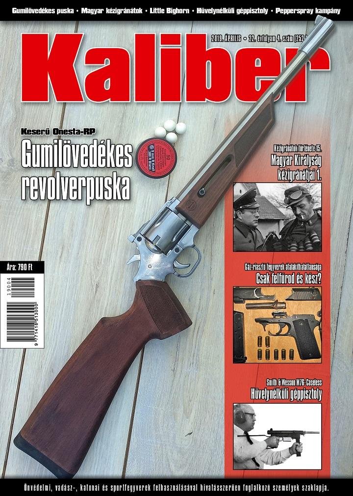 Kaliber Magazin 2019 április (252.)