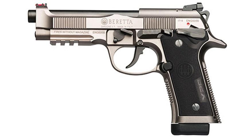 Beretta 92X – új sportpisztoly