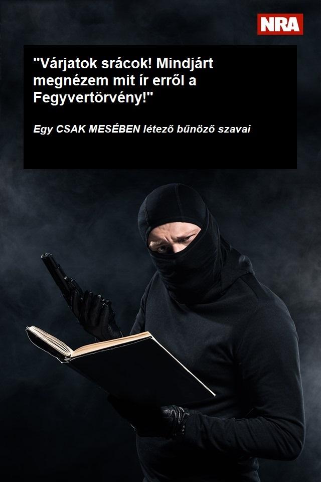 Bűnözők és a fegyverjog – A MESÉBEN