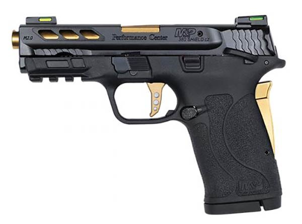 M&P .380 Shield EZ 2.0 Performance Center kivitel
