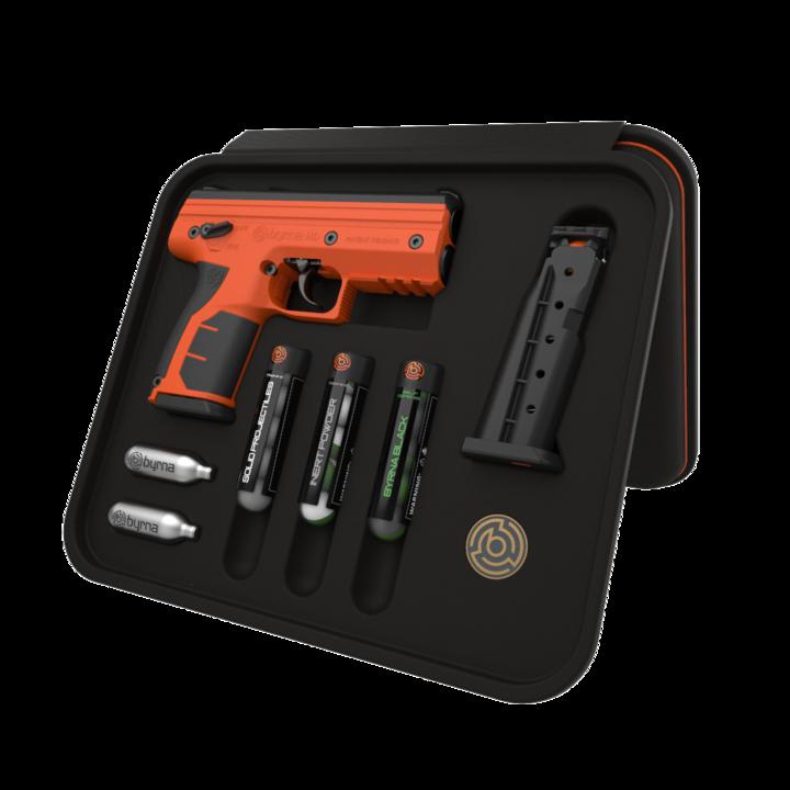 Új pepperball kompakt pisztoly: Byrna HD .68