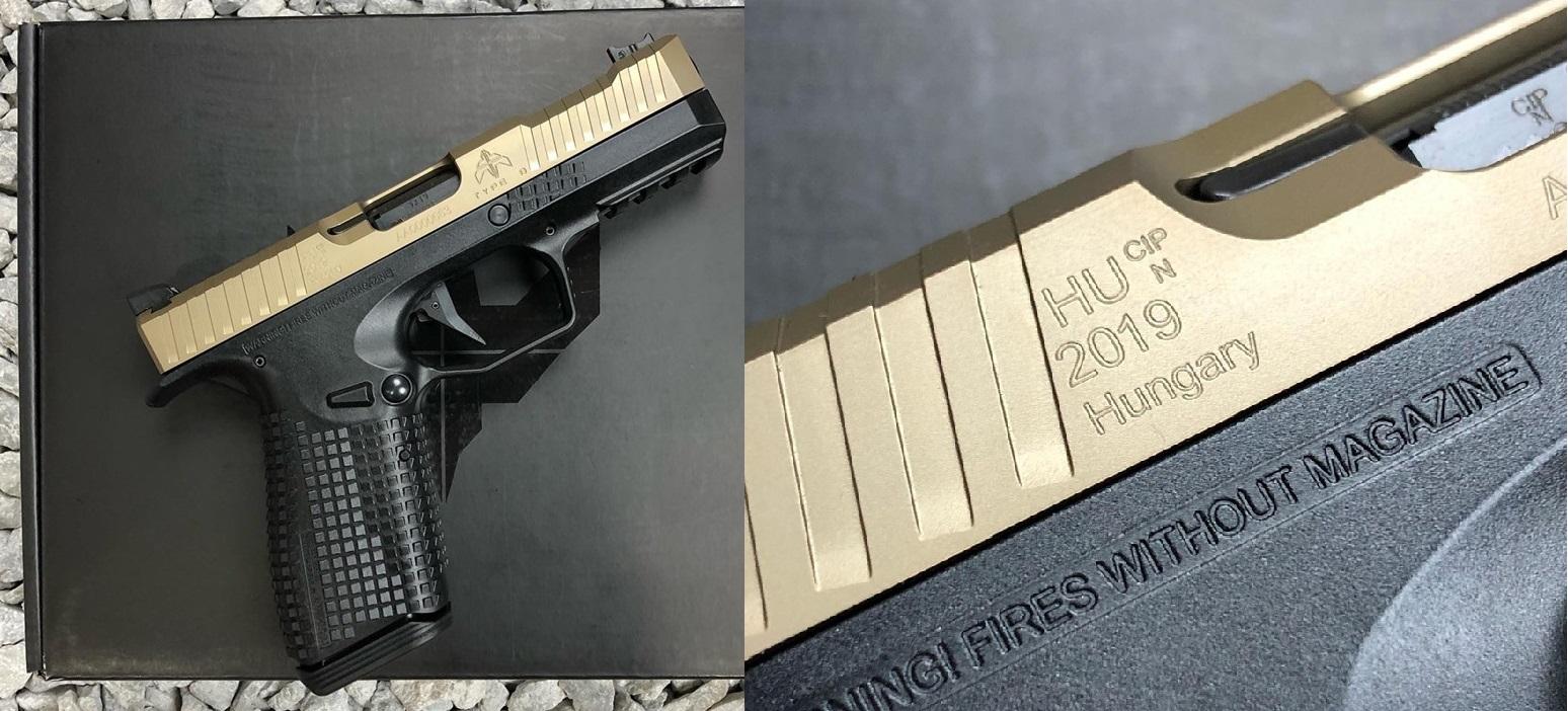 Magyar gyártású Archon Type-B pisztolyok az USA-ban