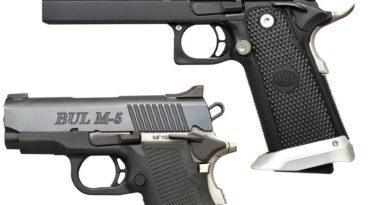 BUL SAS II (.40 S&W) és M5 Ultra-X (.45 ACP)