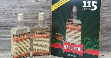 115 év – retro-Ballistol