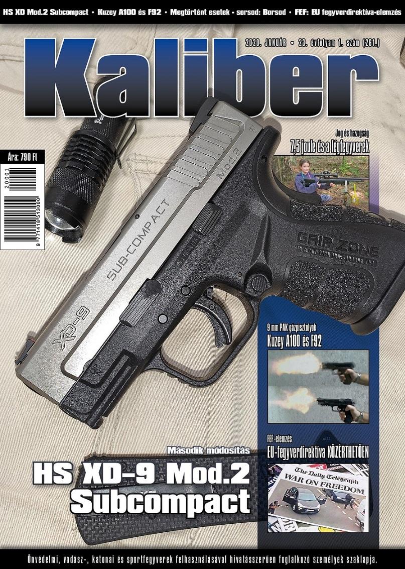 Kaliber Magazin 2020 január (261.)