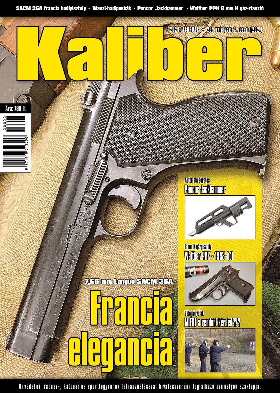Kaliber Magazin 2020. február (262.)