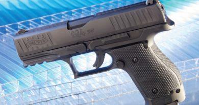 Walther kompakt acéltokos: Q4 SF
