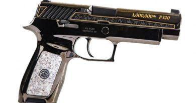 Egymilliomodik darab SIG P320 pisztoly