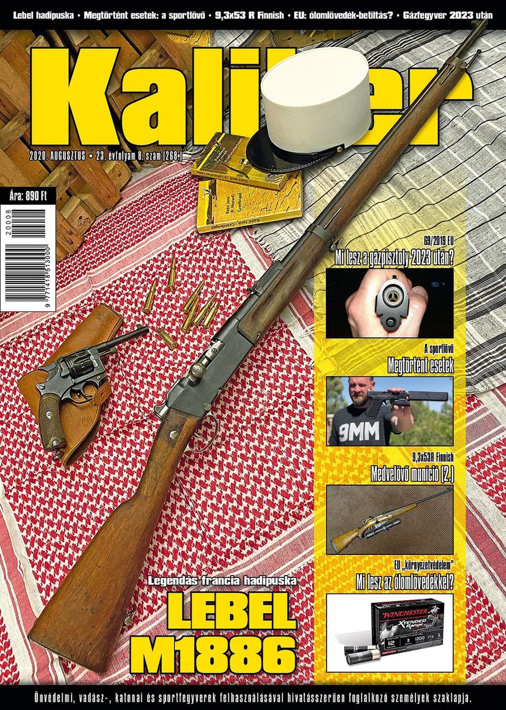 Kaliber Magazin 2020. augusztus (268.)