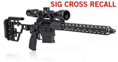 SIG Cross ismétlőpuska VISSZAHÍVÁS!