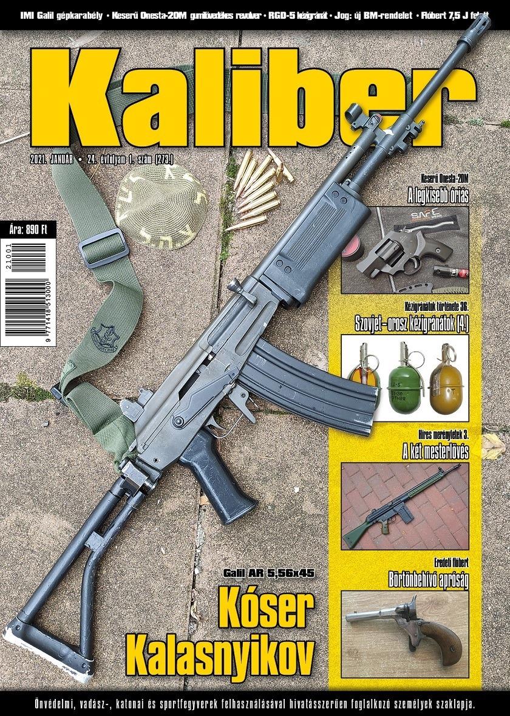 Kaliber Magazin 2021. január (273.)