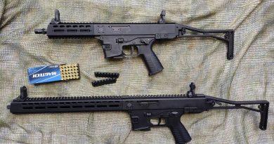 B+T GHM-9 9 mm Luger pisztolykaliberű öntöltő karabély – 2. rész