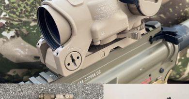 Új gépkarabély-főirányzékok a Bundeswehrnek: Elcan Specter DR 1-4x