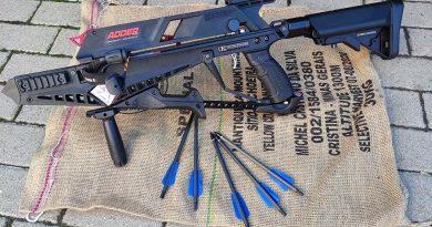 Cobra Adder 5-lövetű számszeríj 1. rész