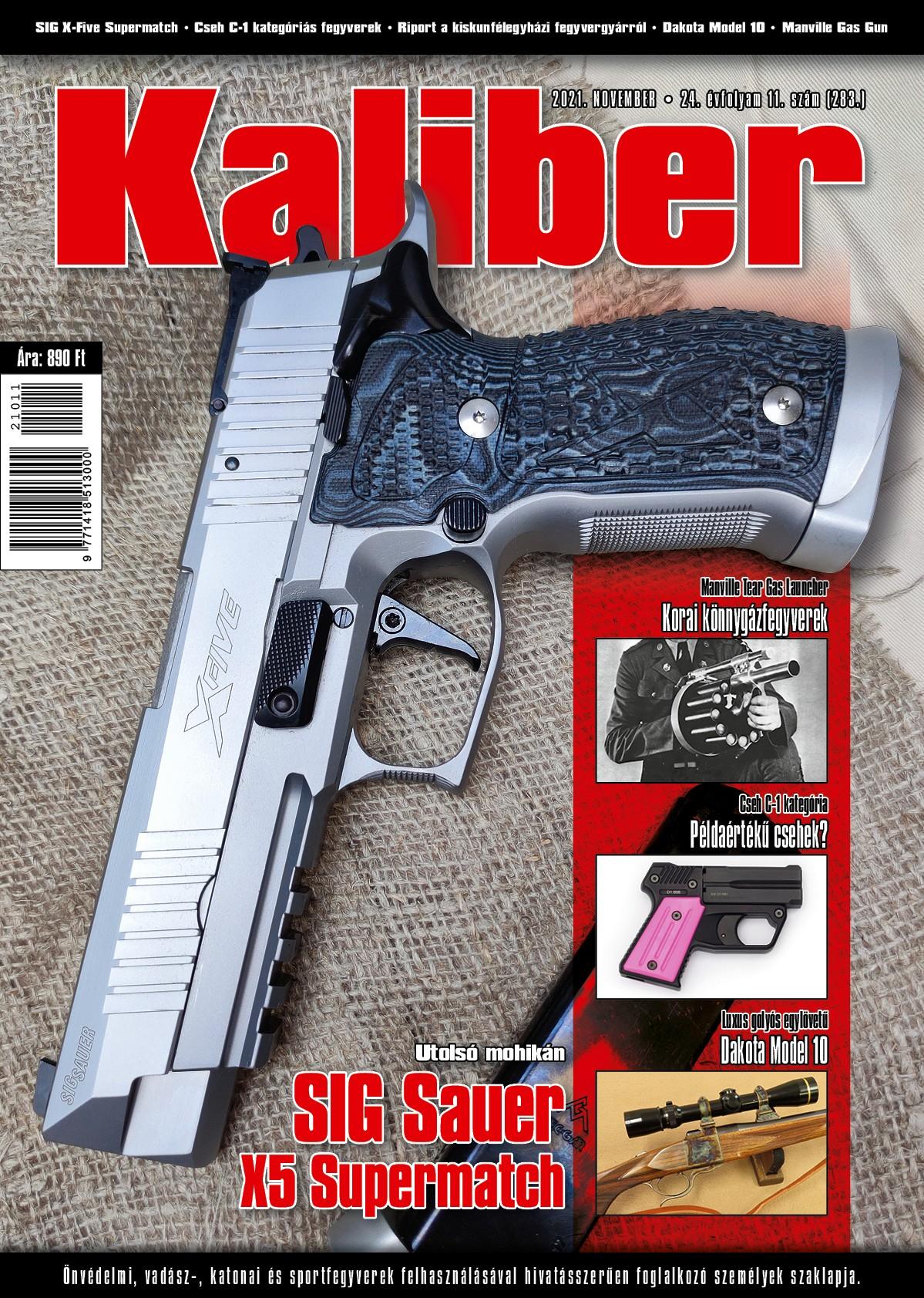 Kaliber Magazin 2021. november (283.)
