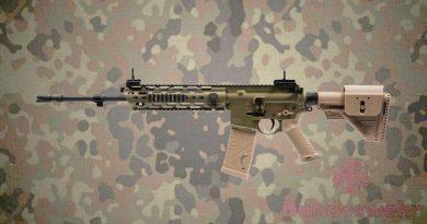 HK 416A8 – a Bundeswehr új gépkarabélya (ma reggeli állás szerint…)