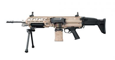 Új FN ultrakönnyű golyószóró/géppuska: EVOLYS