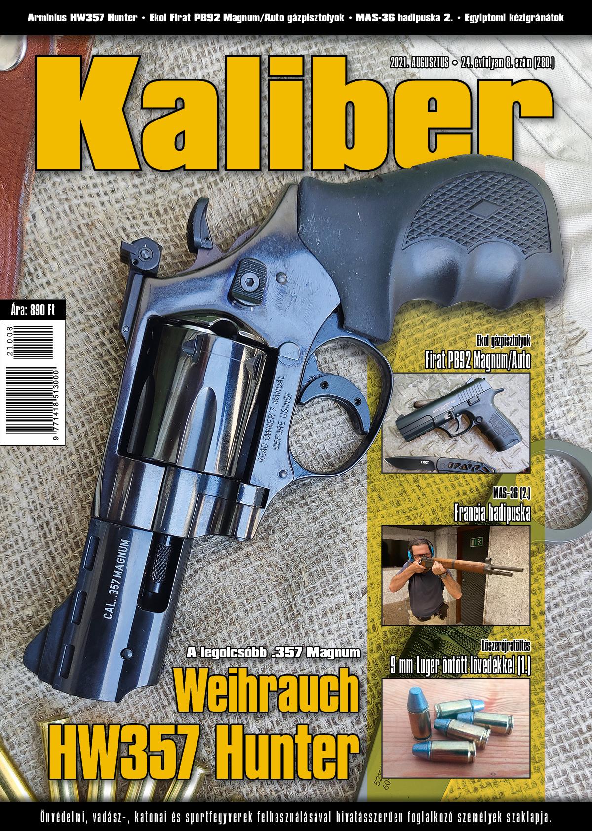 Kaliber Magazin 2021. augusztus (280.)